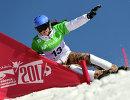 Российская сноубордистка Алена Заварзина