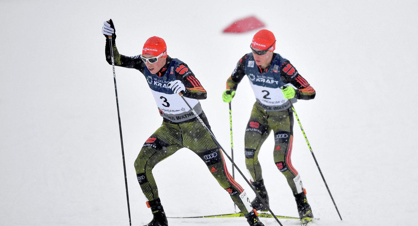 Эрик Френцель (слева) и Мануэль Файстт