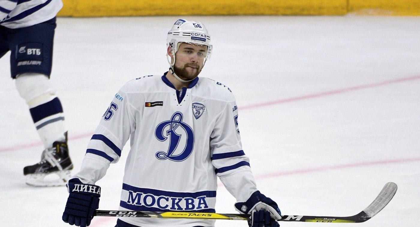 Нападающий Динамо Иван Игумнов