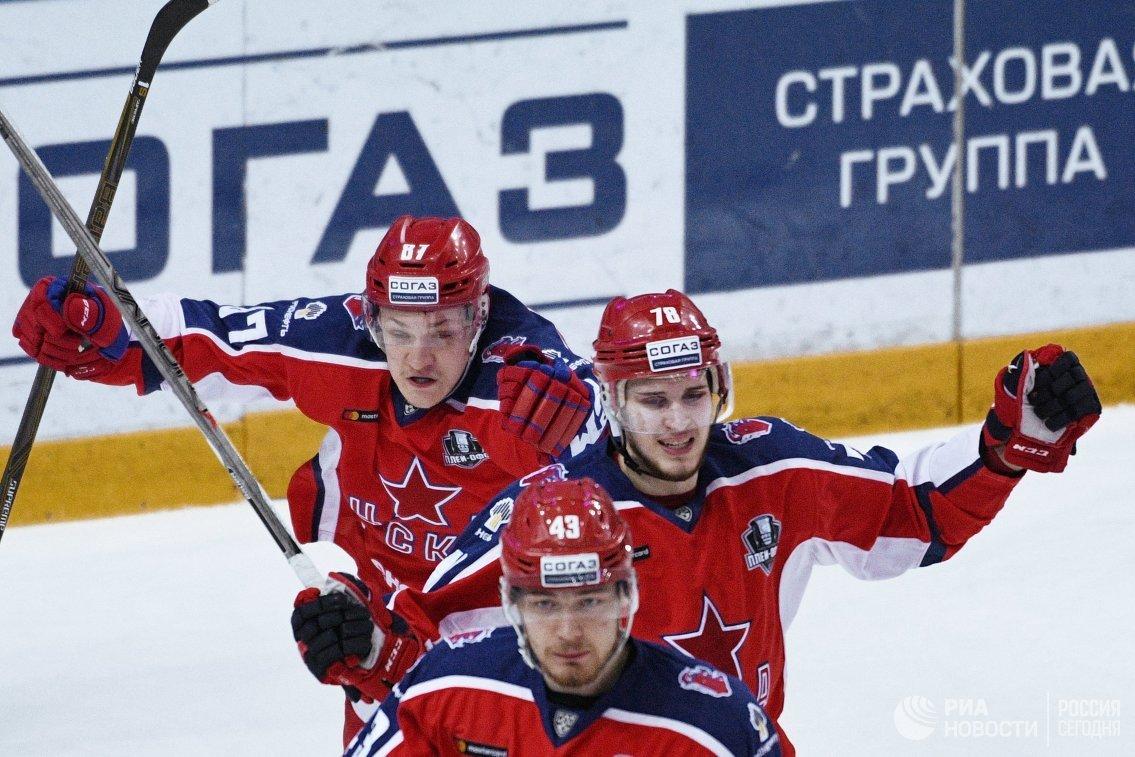 Игроки ПХК ЦСКА