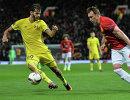 Игровой момент матча Манчестер Юнайтед - Ростов