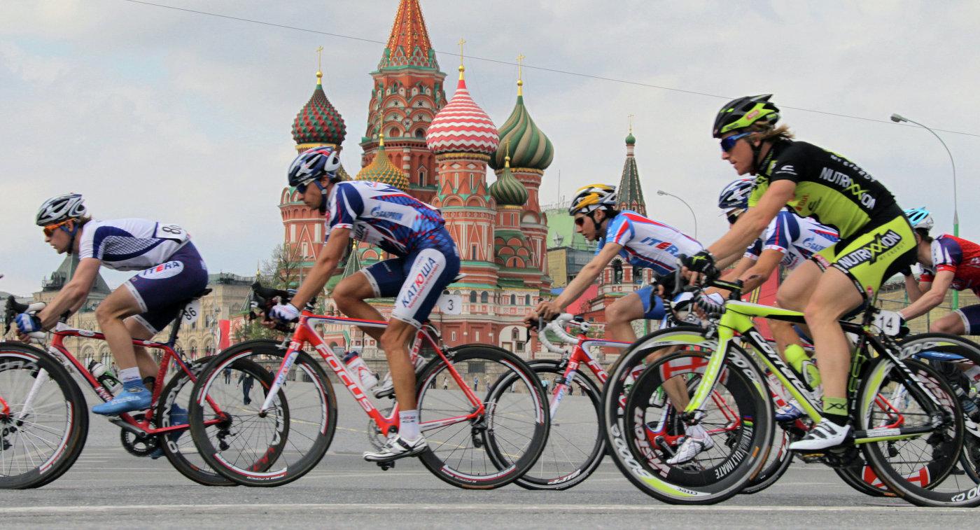 Велоспорт. Пять колец Москвы. Кремлевское кольцо