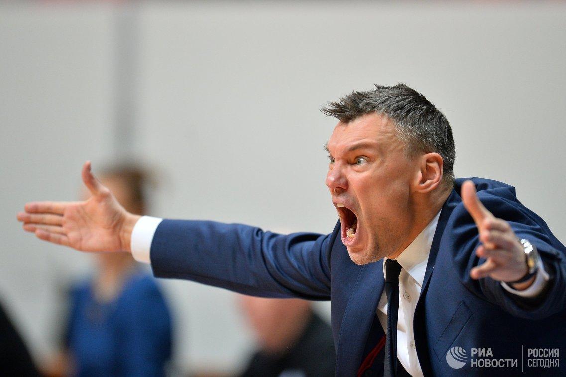 Главный тренер БК Жальгирис Шарунас Ясикявичюс