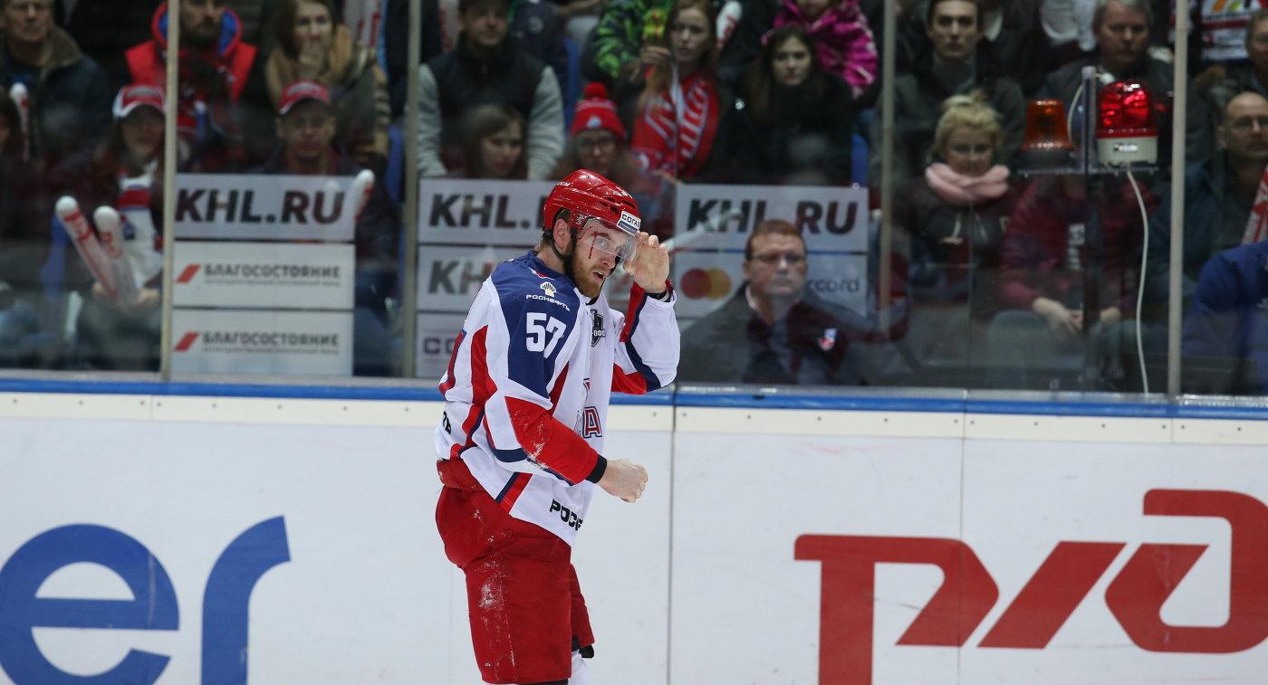Защитника «Салавата Юлаева» дисквалифицировали после игры соСКА