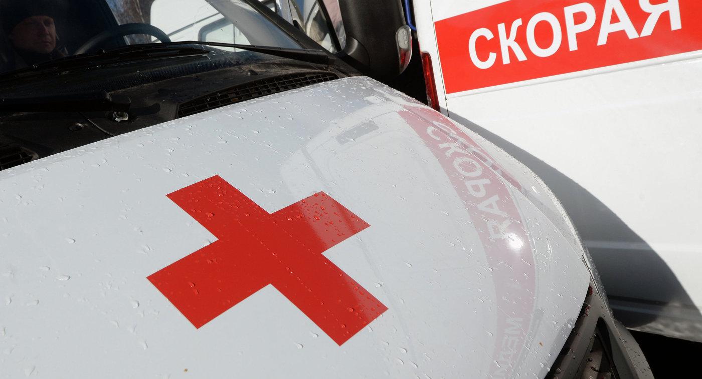 Автобус сукраинскими самбистами опрокинулся на влажной  дороге