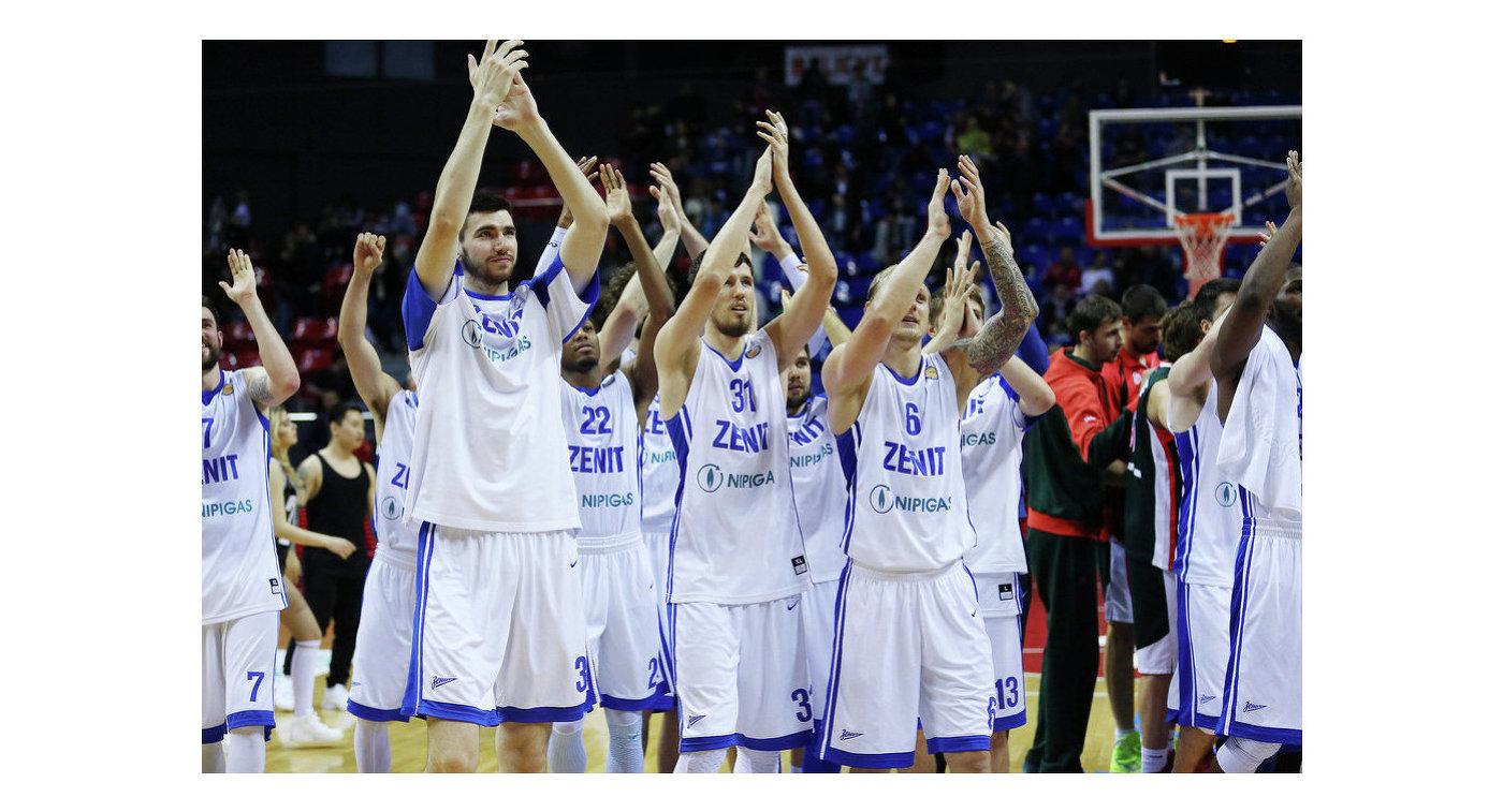 Баскетболисты Зенита