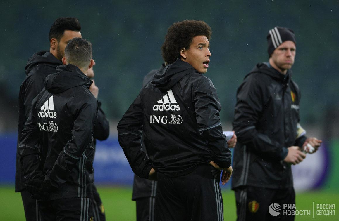 Полузащитник сборной Бельгии Аксель Витсель