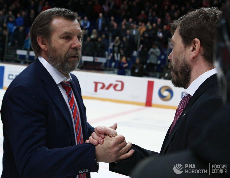 Олег Знарок (слева) и Алексей Кудашов