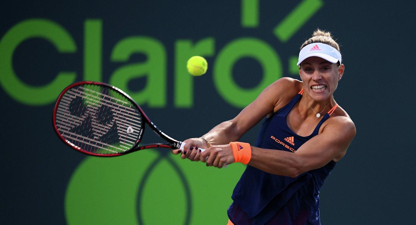 Кербер вышла вполуфинал Australian Open, обыграв Кис
