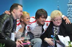 Станислав Морозов, Татьяна Волосожар, Максим Траньков,  Нина Мозер (слева направо)