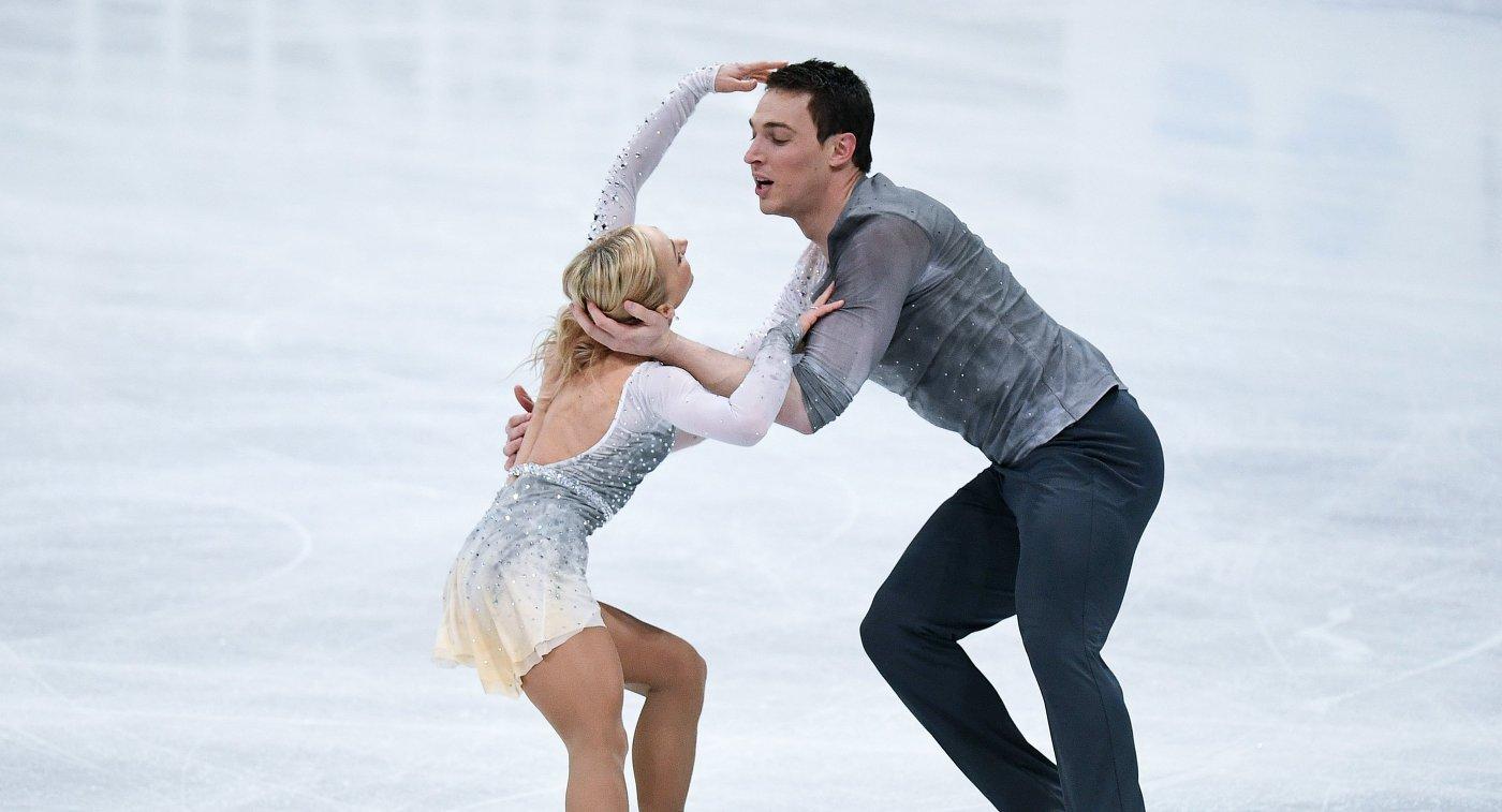 Тарасова иМорозов занимают 2-ое  место после короткой программы вфинале Гран-при