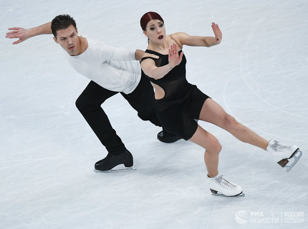 Екатерина Боброва и Дмитрий Соловьев (Россия)