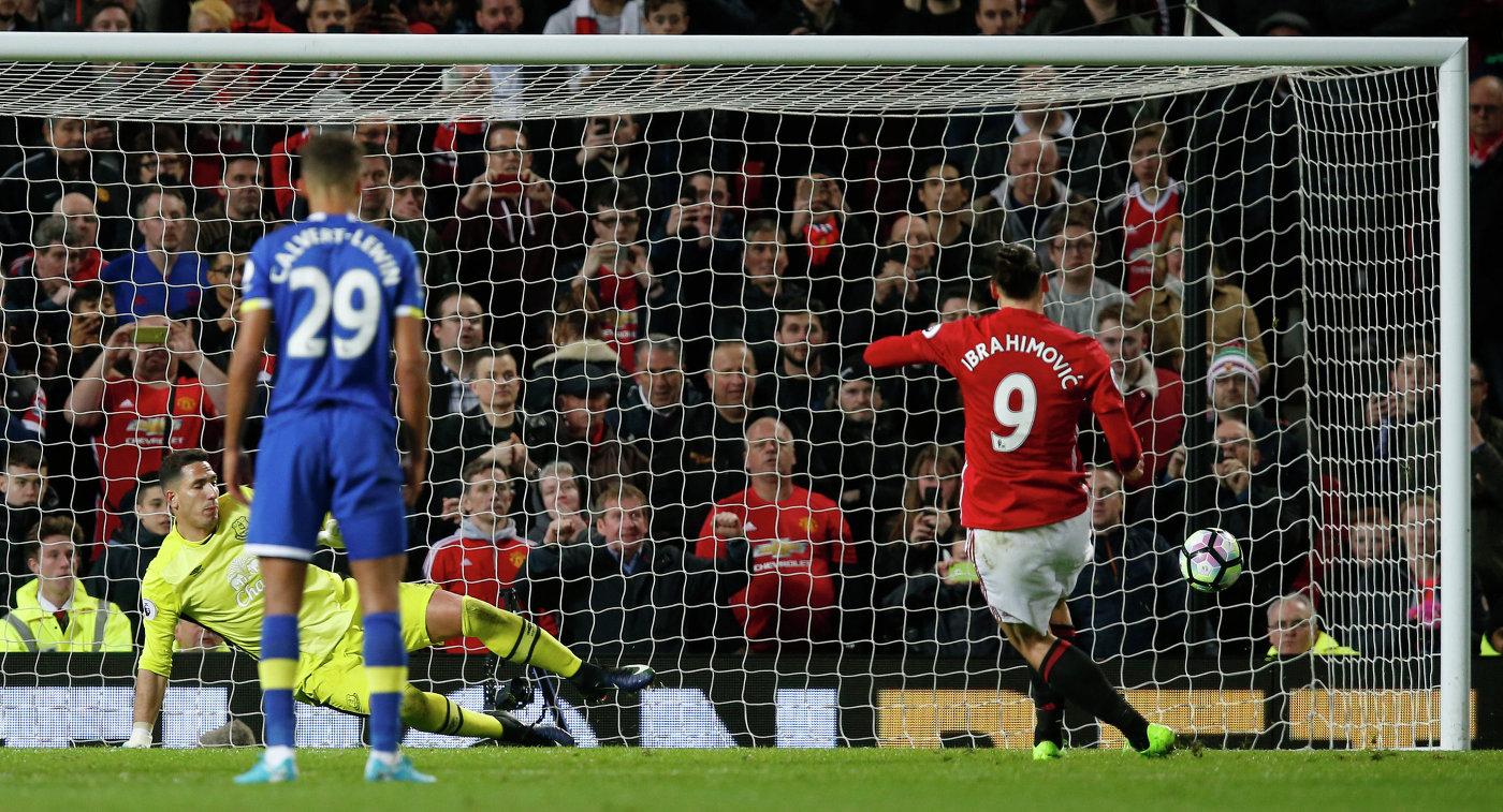 Английская Премьер-лига: Эвертон — Манчестер Юнайтед