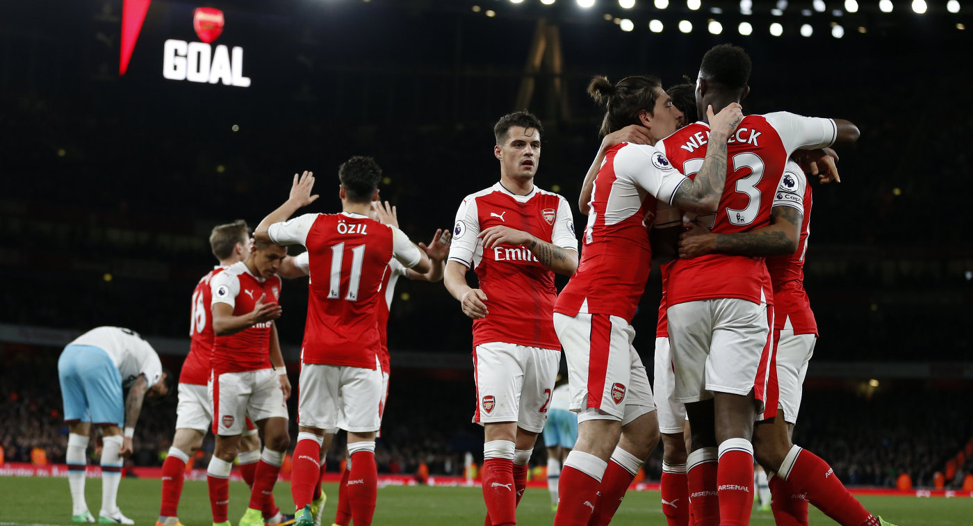 Чемпионат Англии: Вест Хэм Юнайтед — Арсенал