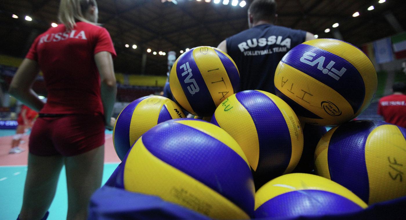Волейболистка сборной России