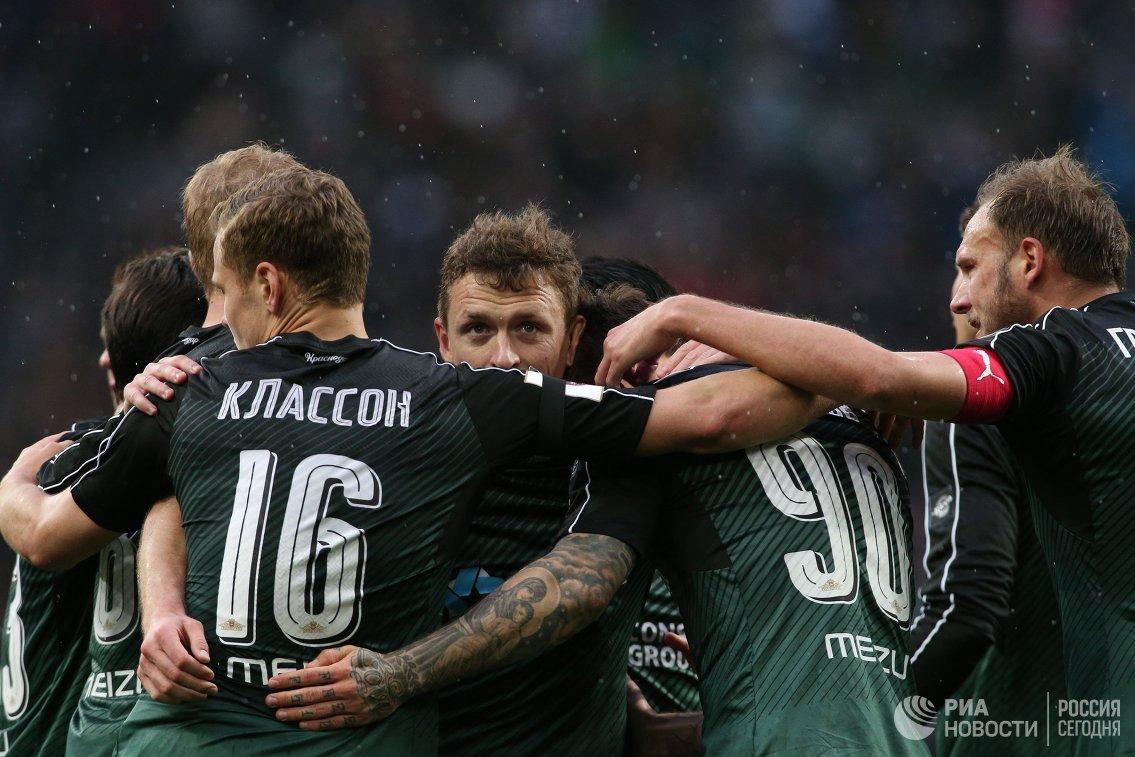 Футболисты Краснодара