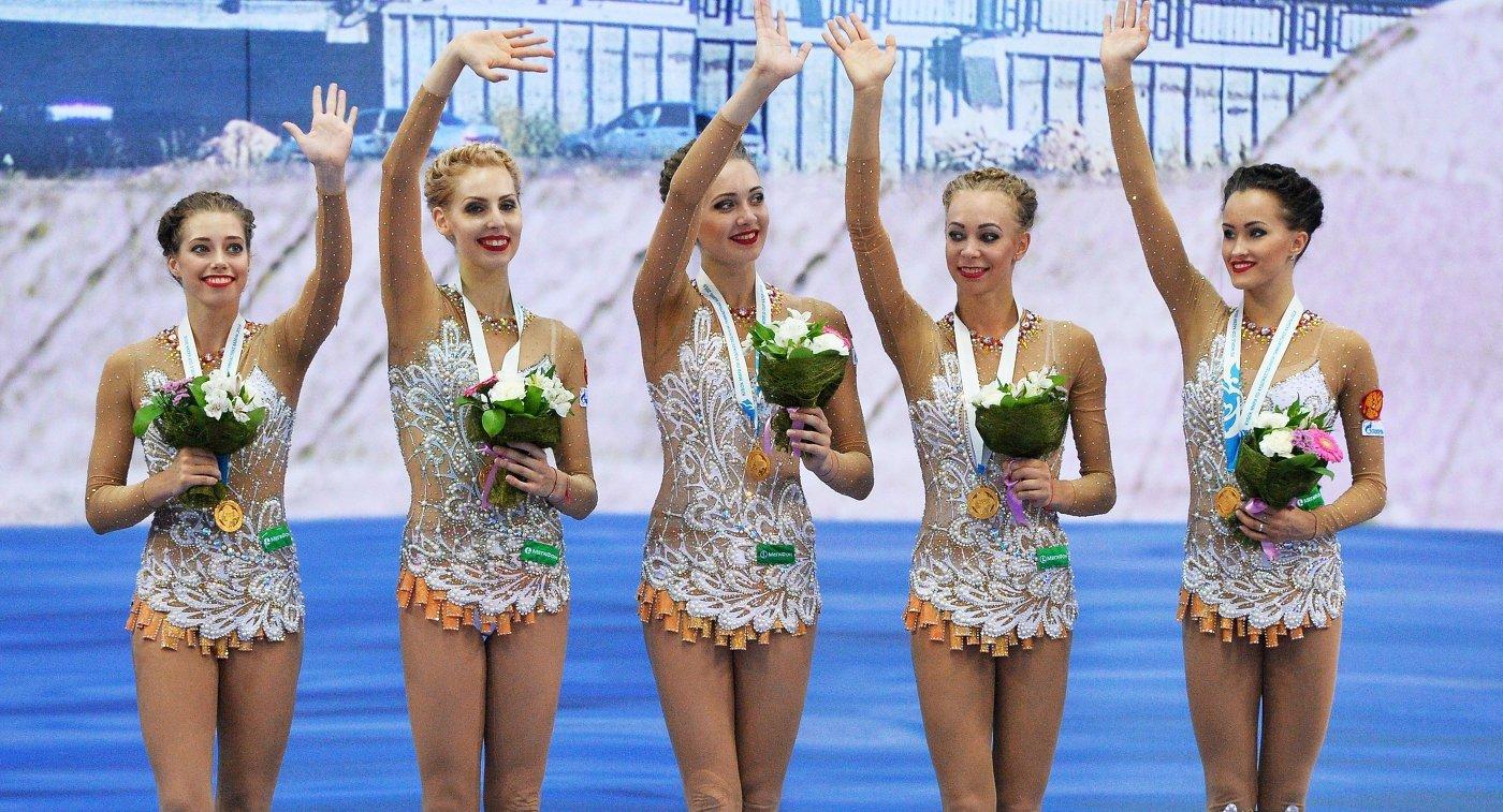 Дина Аверина завоевала золото вмногоборье наэтапеКМ похудожественной гимнастике