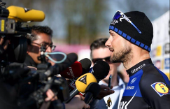 Четырехкратный победитель монументальной классической гонки Париж - Рубэ бельгиец Том Бонен