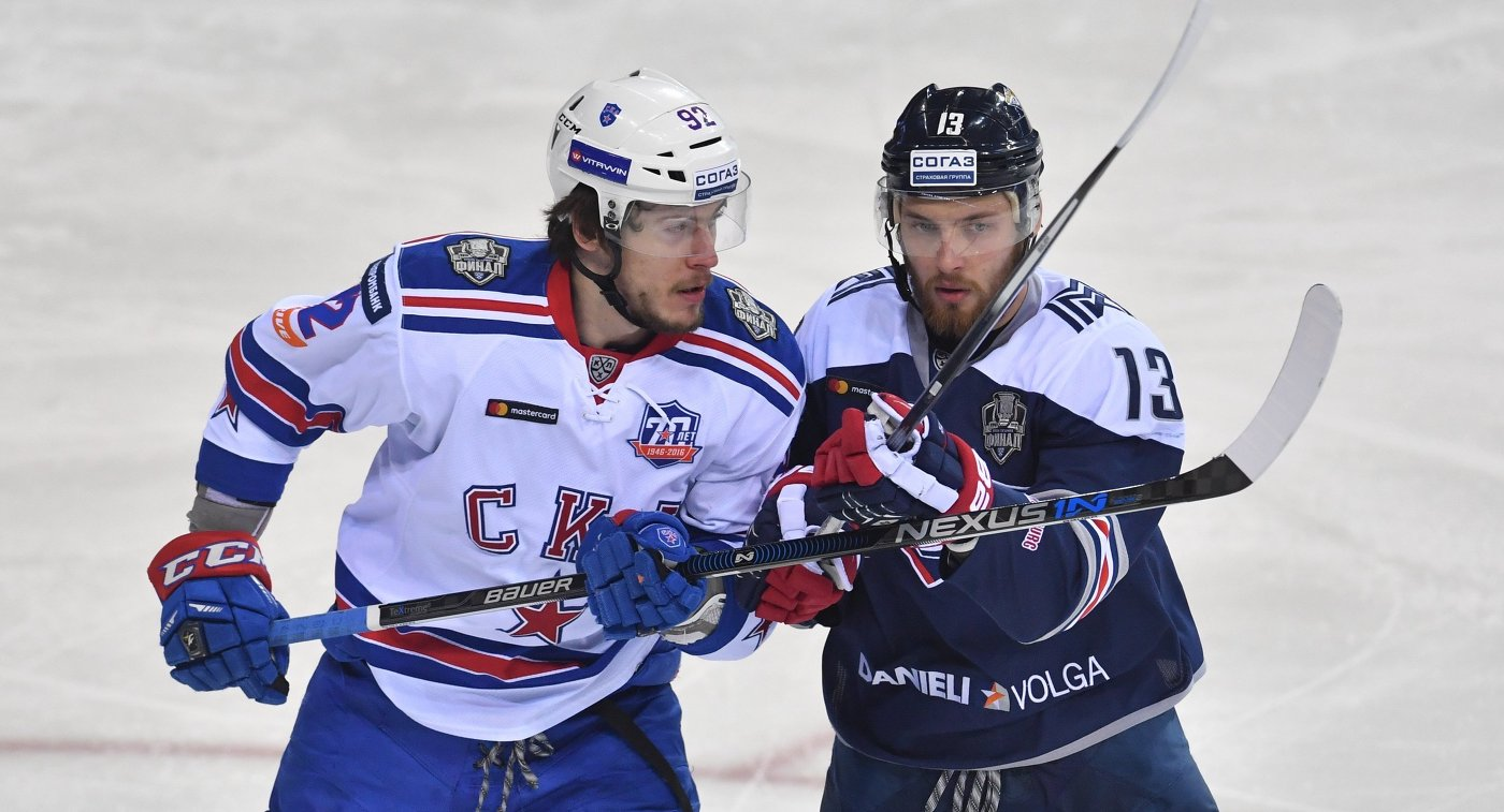 Хоккеист Дергачев покинул СКА ипродолжит карьеру в«Спартаке»