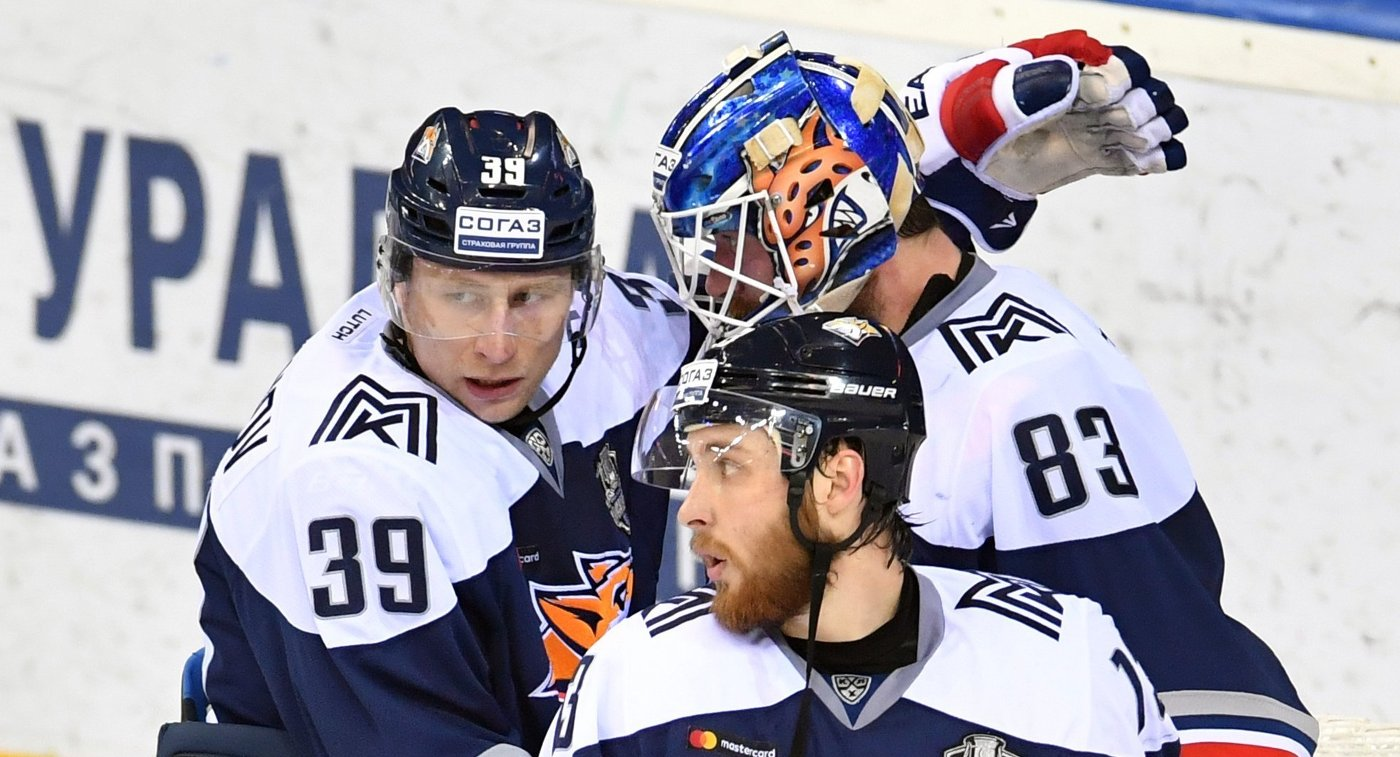 «Металлург» всерии буллитов победил «Куньлунь» вматче КХЛ