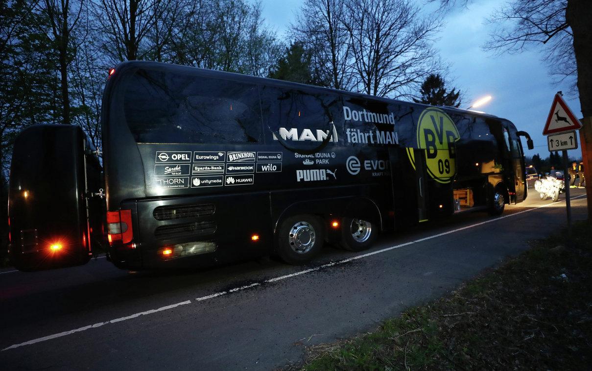Автобус дортмундской Боруссии