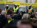 Полиция вокруг стадиона Боруссии после взрыва у автобуса команды