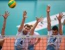 Игроки ВК Динамо Сергей Гранкин, Алексей Остапенко и Юрий Бережко (слева направо)