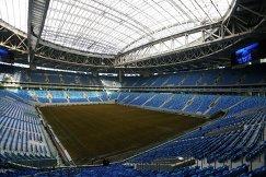 Трибуны стадиона Санкт-Петербург