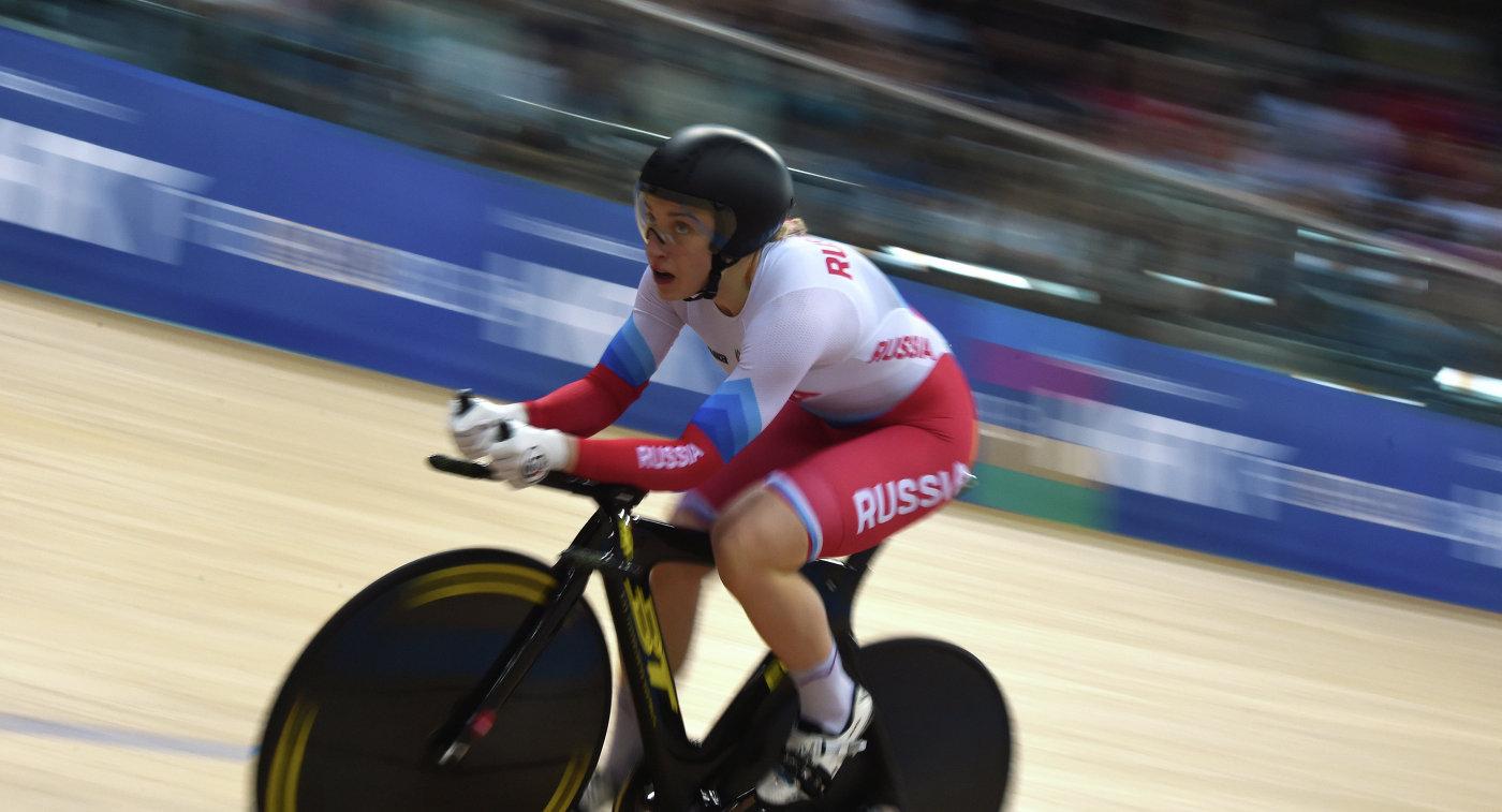 Шмелёва выиграла бронзу виндивидуальном спринте наЧЕ повелотреку