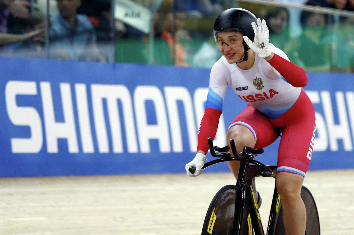 Войнова— чемпионка Европы повелоспорту натреке, уАугустинас— серебро