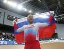 Российский велогонщик Денис Дмитриев