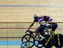 Французские велогонщики Морган Кнески и Бенжамин Тома
