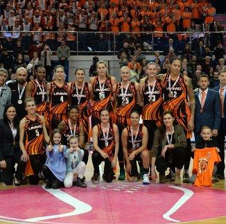 Игроки и тренерский штаб БК УГМК