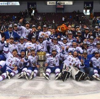 Хоккеисты СКА, ставшие обладателями Кубка Гагарина