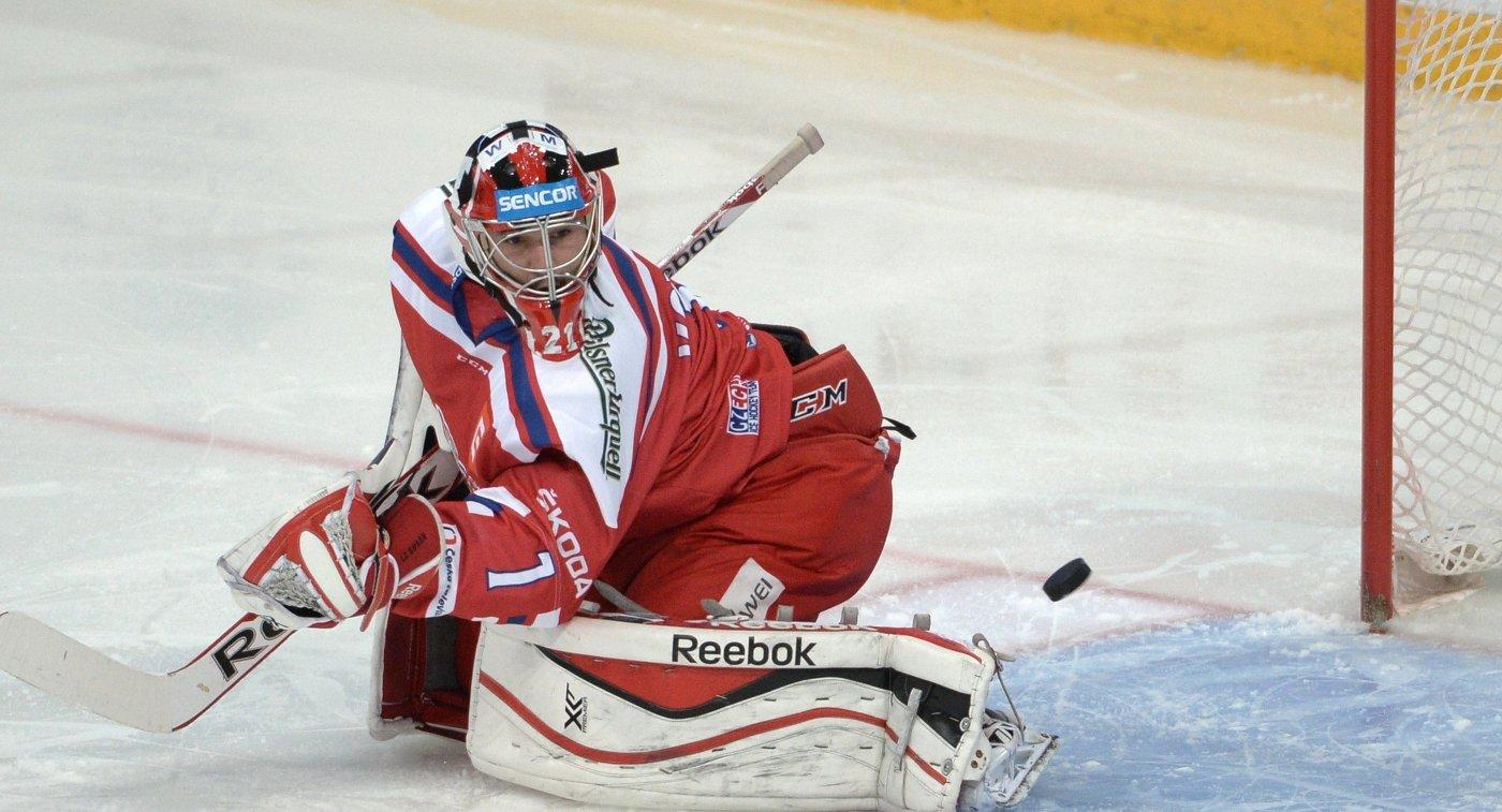 Вратарь сборной Чехии Якуб Коварж