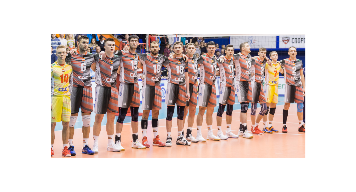 Волейболисты Кузбасса