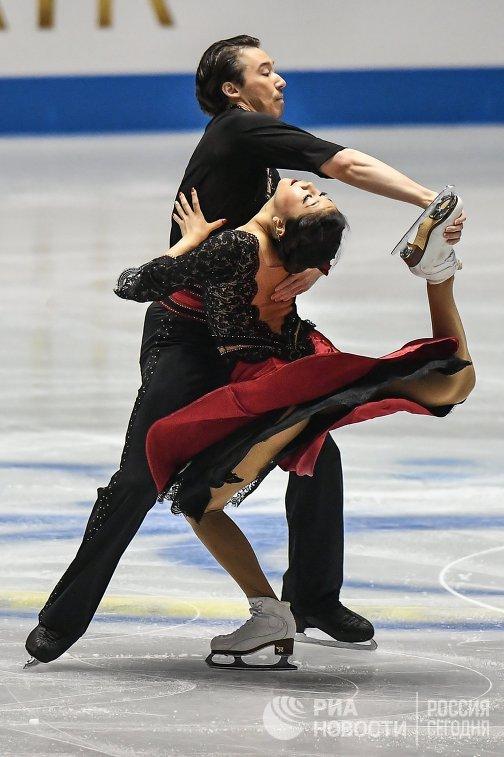 Кана Мурамото и Крис Рид