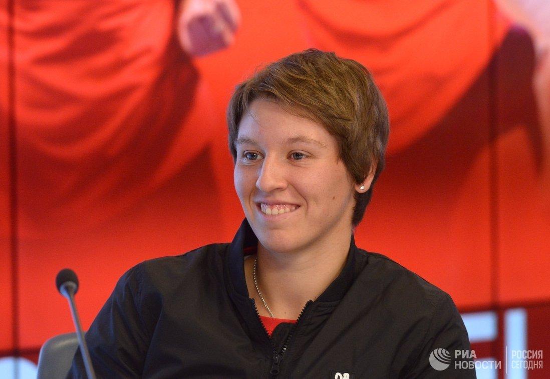 Бельгийская теннисистка Ан-Софи Местах