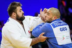 Грузины Гурам Тушишвили (справа) и Адам Окруашвили