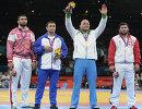 Билял Махов, Комель Гасеми, Артур Таймазов и Давит Модзманашвили (слева направо)