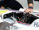 Руль болида команды Уильямс