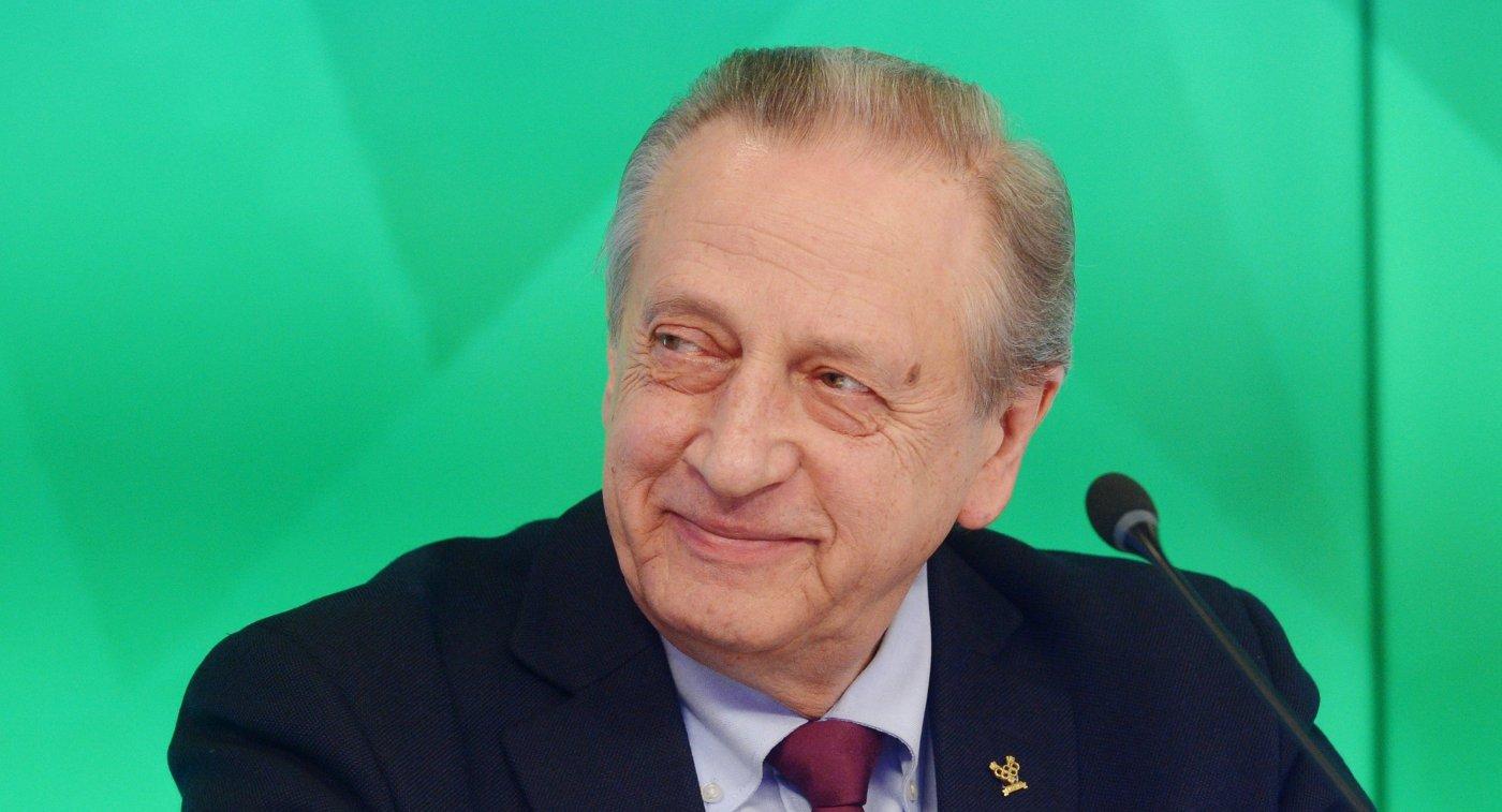 Президент Федерации фигурного катания на коньках России Александр Горшков