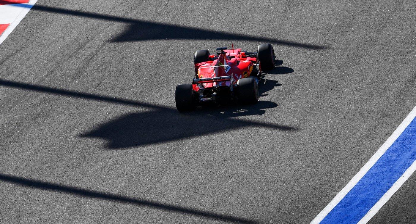 Феттель одержал победу квалификацию Гран-при Мексики