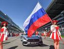 Грид герлз перед стартом гонки Гран-при России