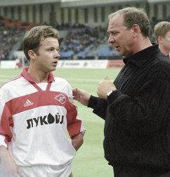 Олег Романцев (справа) и Дмитрий Парфенов.