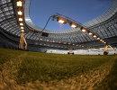 Газон на футбольном поле Большой спортивной арены Лужники