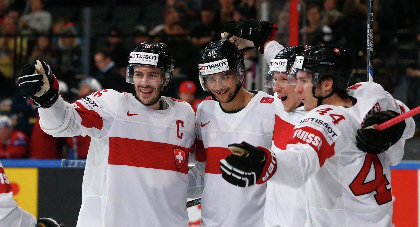 Сборная Швеции стала победителем чемпионата мира по хоккею ...