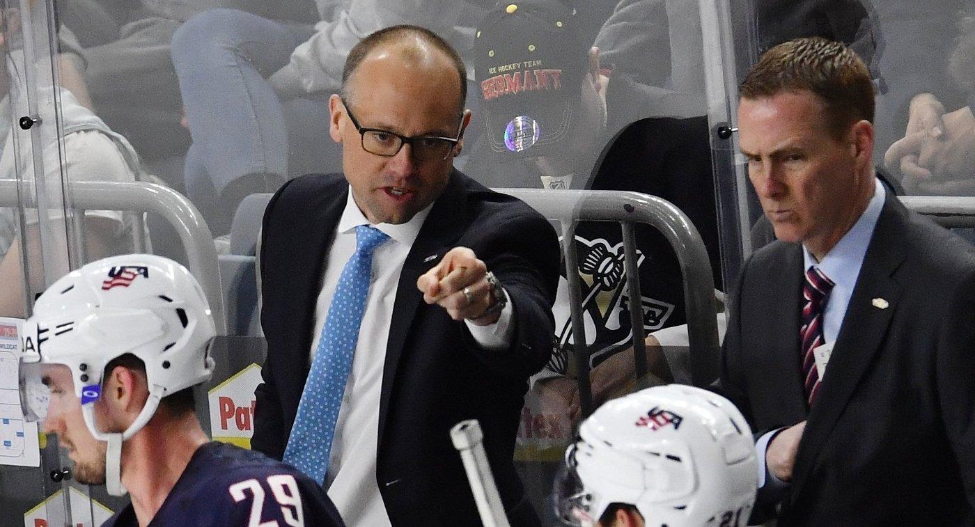 Блашилл из«Детройта» будет основным тренером сборной США наЧМ похоккею