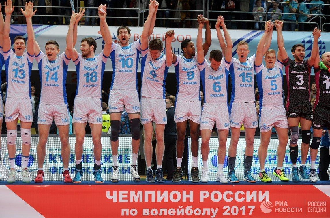 Игроки ВК Зенит-Казань