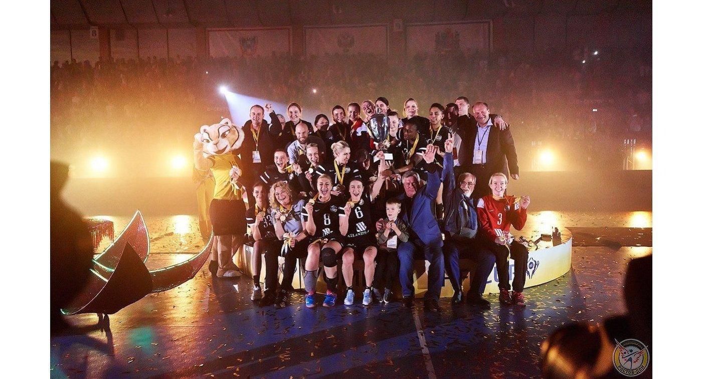 ГК «Ростов-Дон» переломил трехразовый проигрыш вЛиге чемпионов